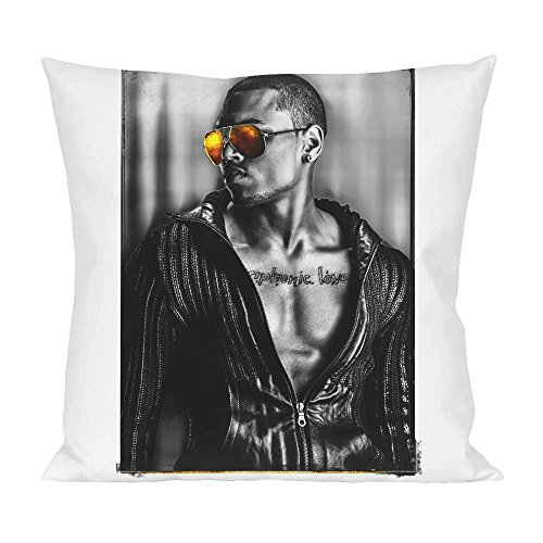 Chris Brown Sunglasses Pillow