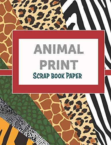 Animal Print: Scrap Book Paper