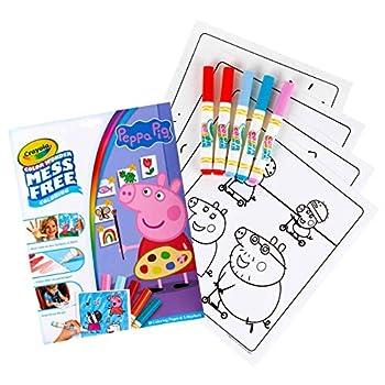 Crayola Peppa Pig Wonder Mess Free Coloring Set Gift for Kids