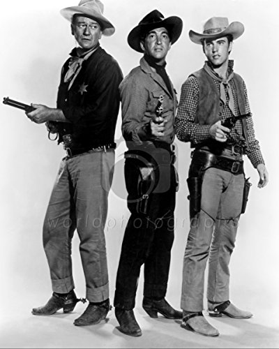 worldphotographs Rio Bravo (1958) John Wayne, Dean Martin, Ricky Nelson 10x8 Photo