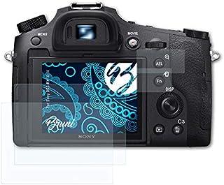Bruni Schutzfolie kompatibel mit Sony DSC RX10 IV Folie, glasklare Displayschutzfolie (2er Set)