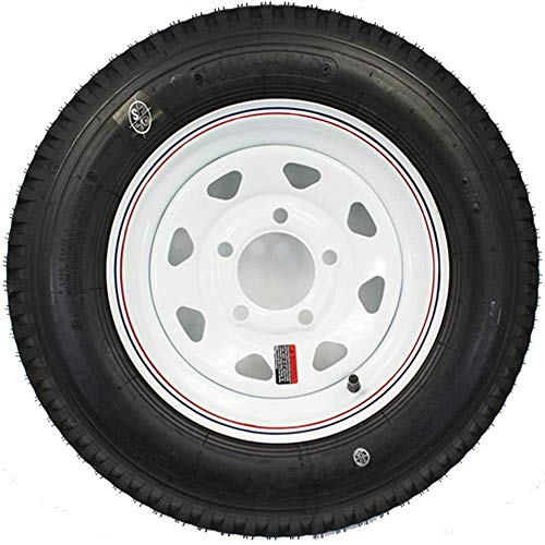 12 inch trailer wheel and tire - 8
