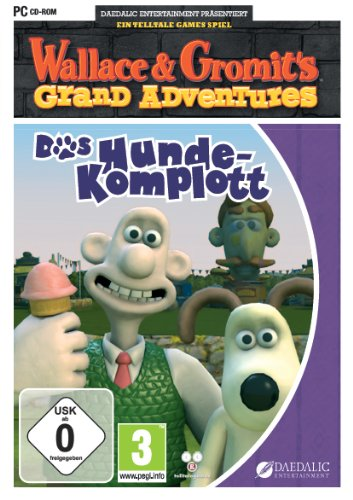 Wallace und Gromit - Das Hunde-Komplott [Importación alemana]