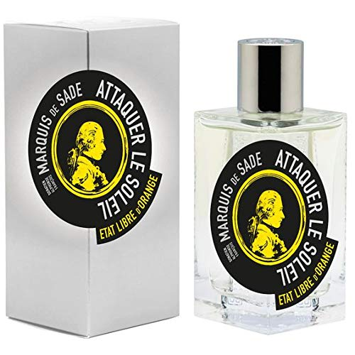 Etat libre d' arancione Attaquer le Soleil Marquis de Sade Eau de Parfum 1.7oz/50ml New in box