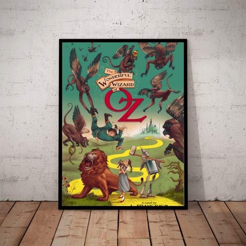 Quadro Filme O Magico De Oz Cartaz Com Moldura