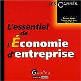L'essentiel de l'Economie d'entreprise