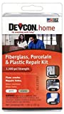 Devcon Epoxy Bathtub Repair Kit (Almond & White) 2 PACK