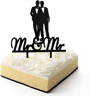 mr and mr cake topper