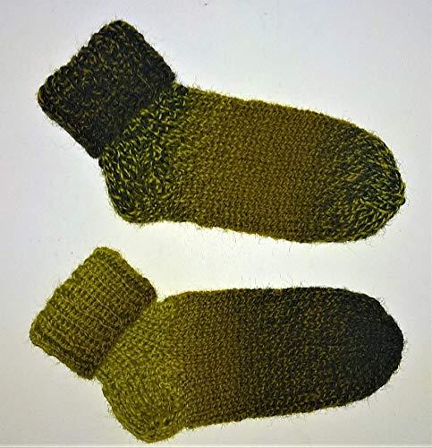 Selbstgestrickt/Handgemacht/Socken/Wollsocken/Schoppel /