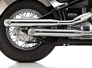 Yamaha Xv535 Virago Modell Leder Tank Chap Latz und Tasche mit Nieten/…
