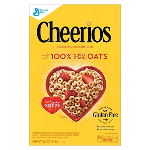Cheerios Breakfast Cereal - 12oz (340g) - General Mills [並行輸入品]