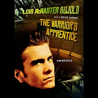 The Warrior's Apprentice audiobook cover art