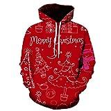 Mr.BaoLong&Miss.GO Otoño E Invierno Suéter De Moda para Hombres Chaqueta Navideña Suéter Navideño para...