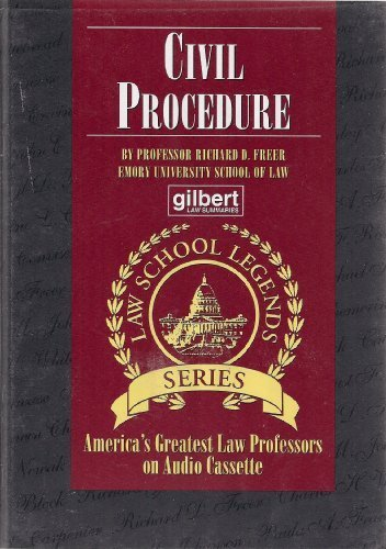 Civil Procedure (Law School Legends Series)