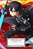 Kirigaya Kazuto : Lined Journal for teens, students, teachers, women and adults, For writing, Drawing, Goals Ideas, Diary, Composition Book: Gift Notebook/Journal (6x9in) (Englisch)