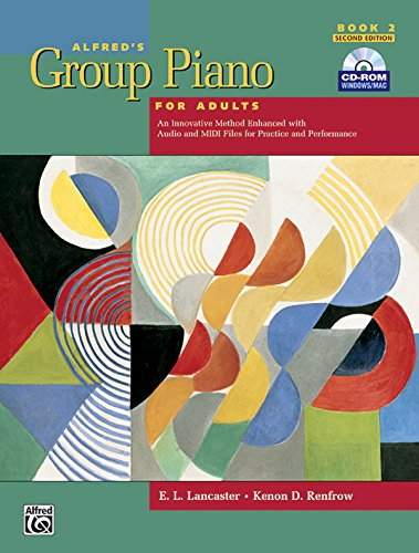 Alfred's Group Piano for Adults: Student Book 2, 2nd...