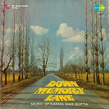 Down Memory Lane Music of Kamal Das Gupta