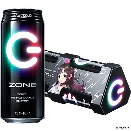 【Amazon.co.jp限定】 ZONe Ver.1.0.0 6缶パック (オリジナルWEB ARパッケージ) Kizuna AI Ver エナジードリンク 500ml ×6本