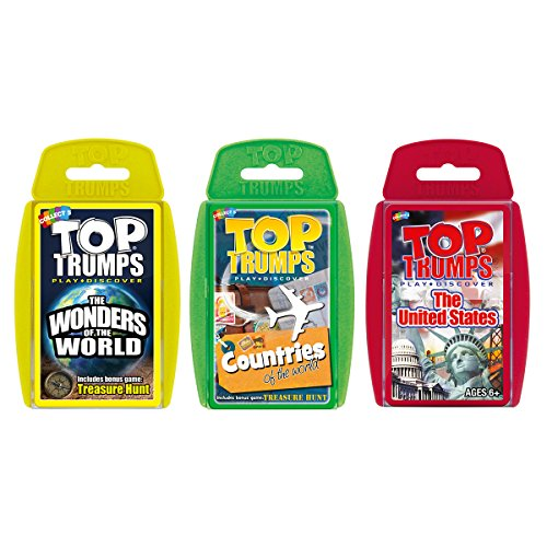 Explore Our World Top Trumps Card Game Bundle