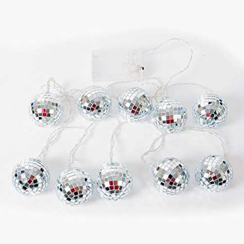 Funtime Gifts Disco Spiegelkugel Lichter, mehrfarbig