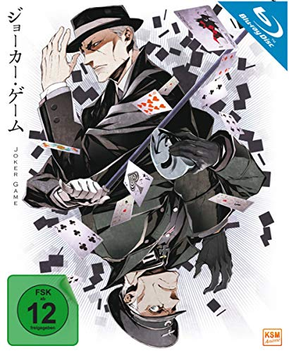 Joker Game - Gesamtedition: Episode 01-12 [Blu-ray]