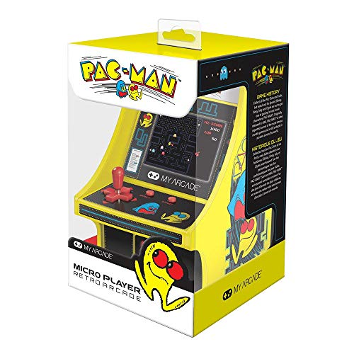 6 Zoll Collectible Retro Pac-Man Micro Player
