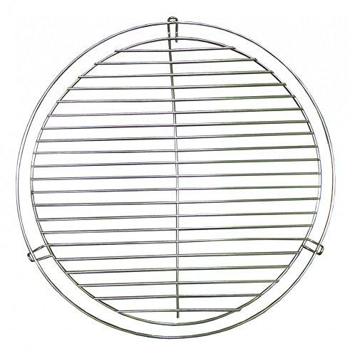 Best Sporting Grillrost Schwenkbar mit Kette zur Aufhängung, Durchmesser ca. 50 cm