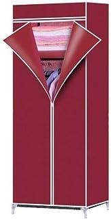 Zhicaikeji Garde-Robe Simple Tuyau Tissu Non-tissé Étanche Aux Poussières Montage Simple Armoire De Combinaison Armoire De...