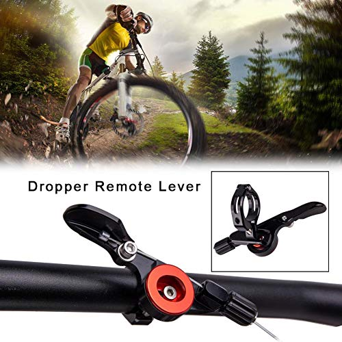 Fahrräder Dropper Dropper Post Remote Sattelstütze Remote Hebel Universal Fahrrad Sattelstütze Remote Hebel Shifter Mit Sealed Bearing Mountainbike Zubehör Radfahren Ausrüstung Für Outdoor-Sport