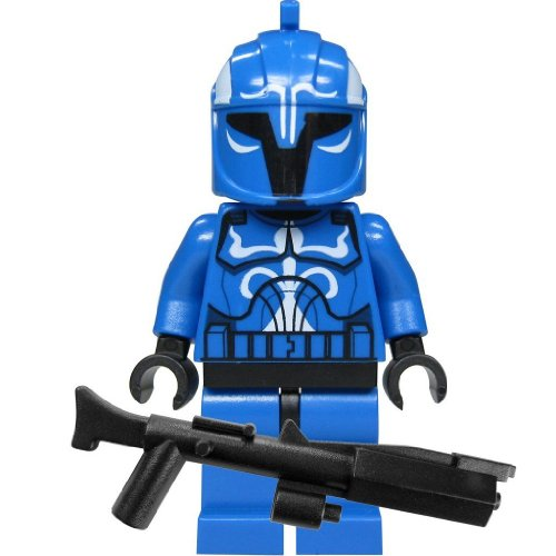 LEGO, Star Wars, Figur, Senate Commando Captain