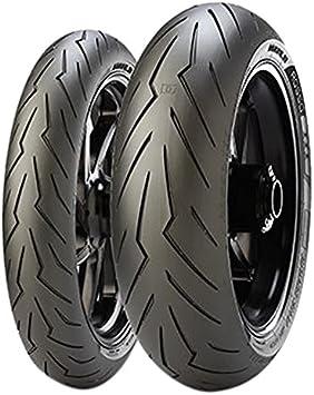 Diablo Rosso 2 Rear Motorcycle Tire for Triumph 73W PIRELLI 180//55ZR-17