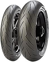 Pirelli Diablo Rosso 3 Rear Motorcycle Tire 180/55ZR-17 (73W) - Fits: Aprilia Caponord 1200 ABS 2014-2018