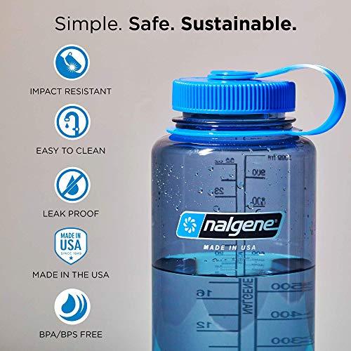 nalgene(ナルゲン)カラーボトル広口1.0Lトライタンボトルグレー91311