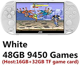 New 4.3 inch 40GB 64bit Handheld Game Console Build in 6000 Games for CPS/NEOGEO/GBA/GBC/GB/SNES/NES/SEGA Video Game Conso...