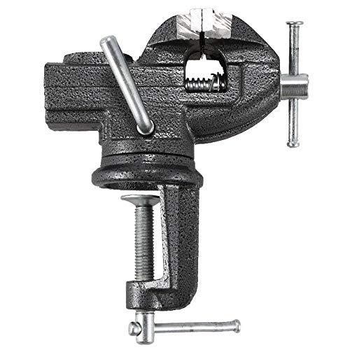 Schraubstock LKU Zweiwege 360 Grad drehbarer 50mm Hochleistungs-Schraubstock Schraubstock Allzweck-Schraubstock, 1