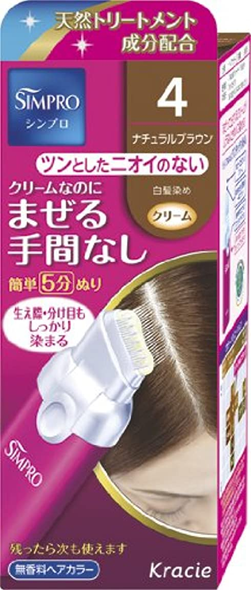 絶壁準拠普通のシンプロ ワンタッチ無香料ヘアカラー 4