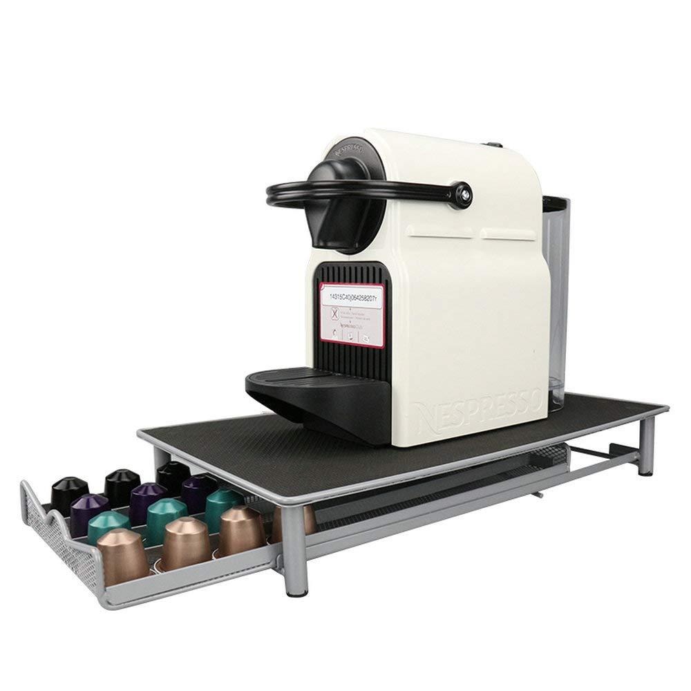 Cajón estilo cápsulas de café soporte para almacenamiento de 40 cápsulas Nespresso: Amazon.es: Hogar