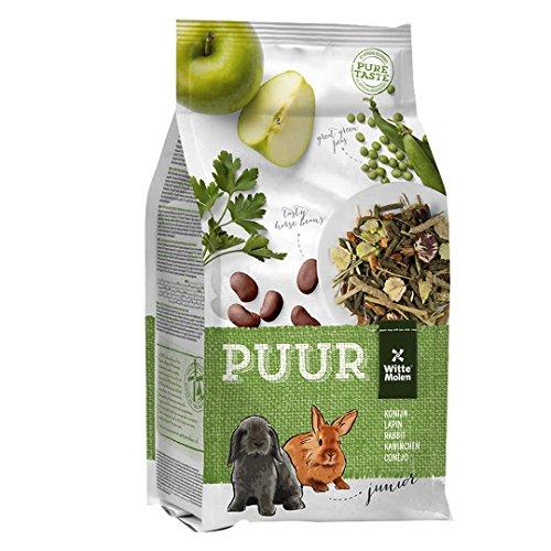 Puur Futter Junior für Junge (Zwerg-) Kaninchen, 1er Pack (1 x 600 g)
