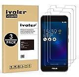 iVoler [3 Pack] Pellicola Vetro Temperato per ASUS Zenfone 3 Max ZC520TL 5.2'', Pellicola Protettiva, Protezione per Schermo