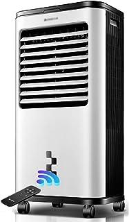 2-en-1 multi-función Aire acondicionado Ventilador, 14L gran tanque de agua, portátil pequeño dormitorio del hogar individual de refrigeración por agua adición de aire acondicionado ventilador, refrig