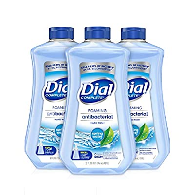 Dial Complete Antibacterial Foaming Hand Soap Refill, 32 oz, 3 count