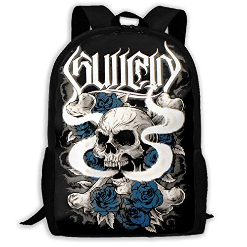 Ahdyr Sullen Art Casual Outdoor Travel Casual Backpack Schoolbag for Unisex