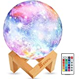 SEGOAL Moon Lamp Moon Light Kids Night Light Galaxy Lamp 16 Colors LED 5.9...