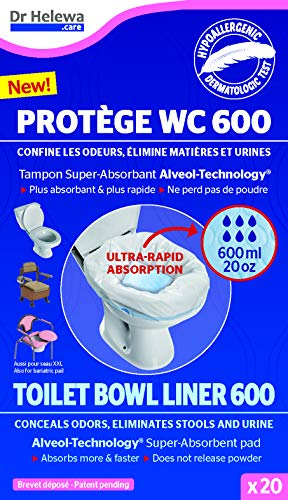 Toilet Bowl Liner Bag for Mobile Camping for Dry Toilet Chemical Toilet Outdoor Tent Boat Canoe Caravan Motorhome Car Caravan Traffic Jam Toilet Motorway Services