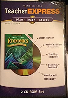 Teacher Express Teachers Edition Test Bank, Teaching Resources, Lesson Planner (Economics Principles in Action)