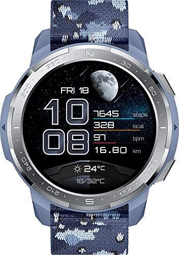 "Oferta de HONOR Watch GS Pro, Pantalla 1.39"" 454x454, batería 790 mAh, GPS, IP68, 100 modos deportivos, Camo Blue"