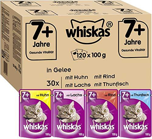 Whiskas -   7 + Katzenfutter -
