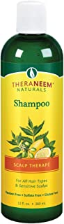 TheraNeem Scalp Therap Shampoo | Protects, Nourishes and Calms Sensitive Scalp with Organic Neem and Peppermint | 12oz