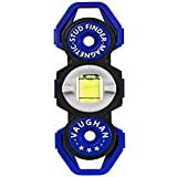 Vaughan - Magnetic Stud Finder/Level, Hand Tools, Levels, Plastic (050044) Blue, Small