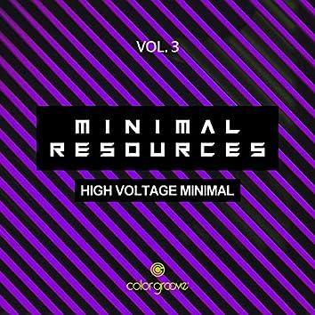 Minimal Resources, Vol. 3 (High Voltage Minimal)